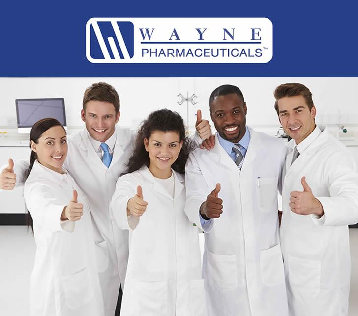Wayne Pharmaceutical Website Placeholder